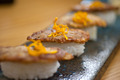 Japanese style sushi fried goose liver - PhotoDune Item for Sale