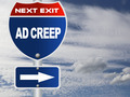Ad creep road sign - PhotoDune Item for Sale