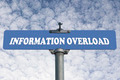 Information overload road sign - PhotoDune Item for Sale