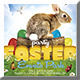 Easter Flyer 2 - GraphicRiver Item for Sale
