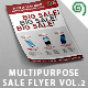 Multipurpose Sale Flyer Template Vol. 2 - GraphicRiver Item for Sale