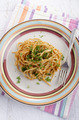 spaghetti with red pesto and parsley - PhotoDune Item for Sale