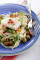 cod with olive, caper, tomato and parsley - PhotoDune Item for Sale