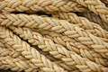 Nautical knots. Big marine vintage sea ropes in heap background - PhotoDune Item for Sale