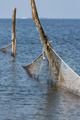 Dutch sea with fishing nets - PhotoDune Item for Sale