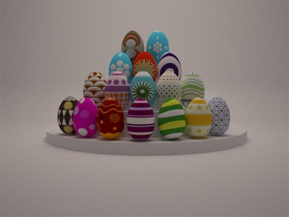 3DOcean Easter Egg 7401294
