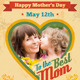 Happy Mother's Day Greeting Card - GraphicRiver Item for Sale