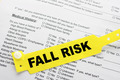Fall Risk With Paperwork - PhotoDune Item for Sale