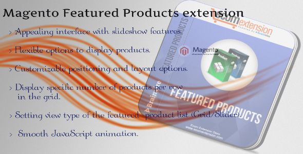 CodeCanyon Magento Featured Products Extention 7407988