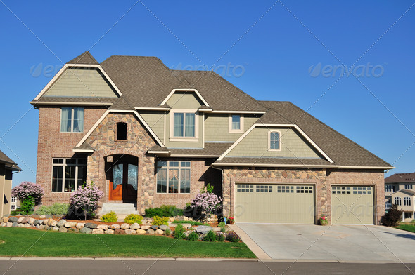 PhotoDune Suburban Executive Home 768239