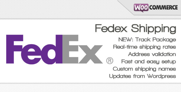 Fedex shipping method for WooCommerce - CodeCanyon Item for Sale