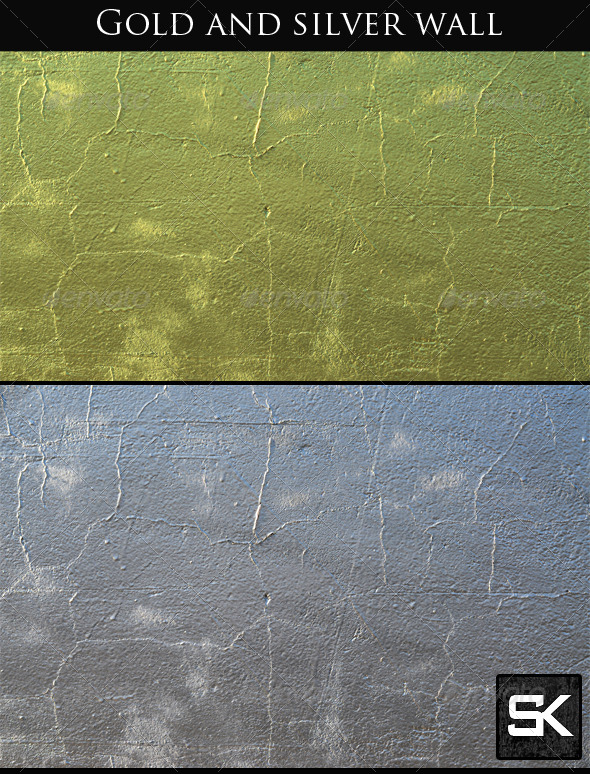 GraphicRiver Gold And Silver Wall 7423909