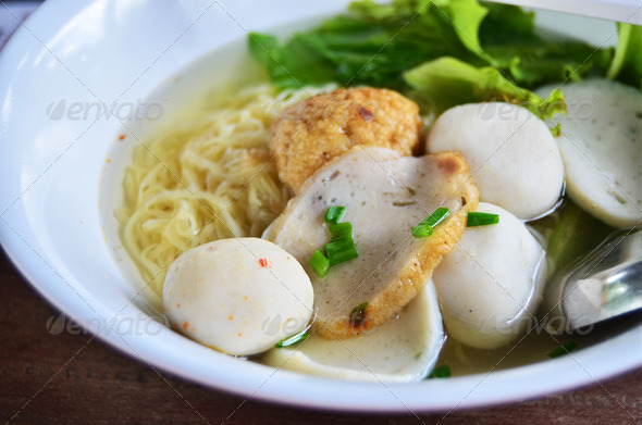 Asian style noodle - Stock Photo - Images