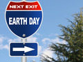 Earth day road sign - PhotoDune Item for Sale
