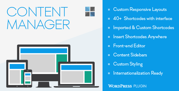 CodeCanyon Content Manager for WordPress 7431829