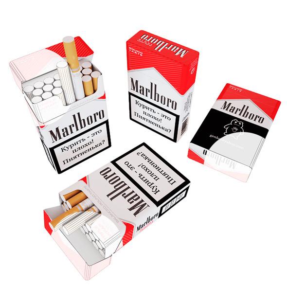 3DOcean Cigarette 7433367