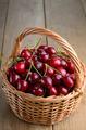 Basket of organic Cherries - PhotoDune Item for Sale