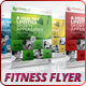 Fitness - Sports Business Flyer - GraphicRiver Item for Sale