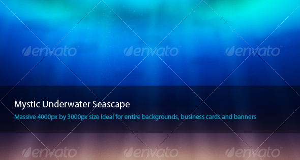 Mystical Underwater Seascape - Nature Backgrounds