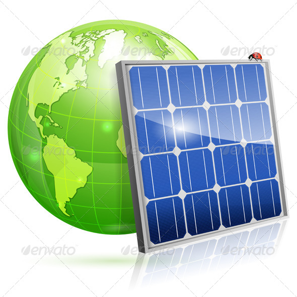 GraphicRiver Solar Panel 7436661