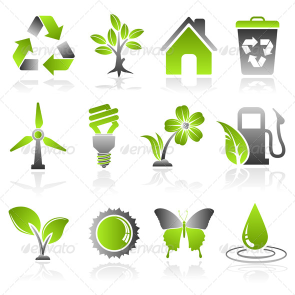 GraphicRiver Environment Icons 7436663