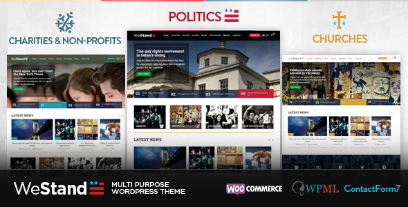 ThemeForest WeStand Multi Purpose Theme 7437426