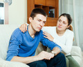 Loving woman tries reconcile with man - PhotoDune Item for Sale