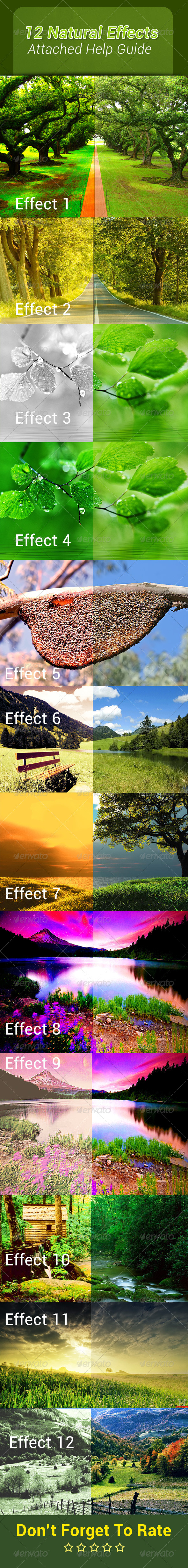 GraphicRiver Natural Photo Action 7439759