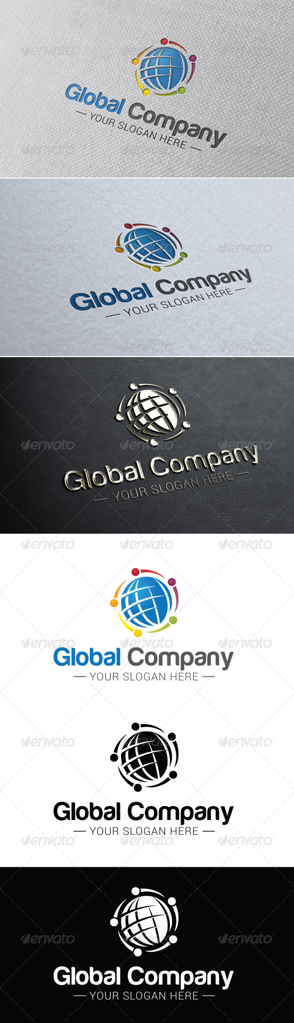 GraphicRiver Global Company Logo Template 7440291
