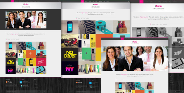 iFolio - Clean WordPress CMS Portfolio Theme - Portfolio Creative