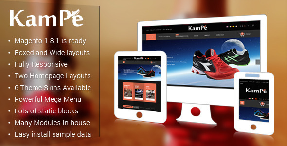SM Kampe – an elegant Theme has released for Sports store. It's our honor to introduce you to a new theme – SM Kame. It has an attractive loo