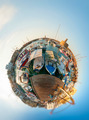 Kyrenia harbour. Cyprus. Littla planet - PhotoDune Item for Sale
