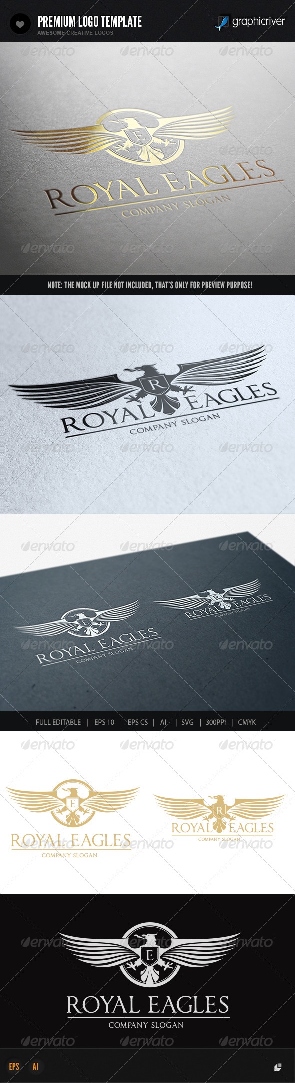 GraphicRiver Royal Eagles 7442383