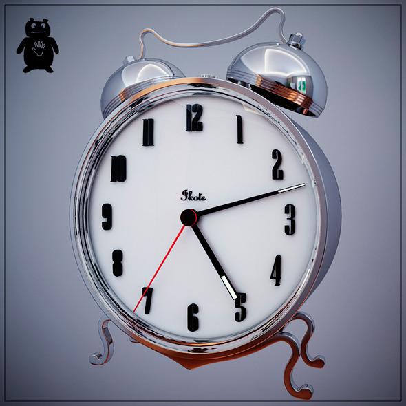 3DOcean Clock 7446628
