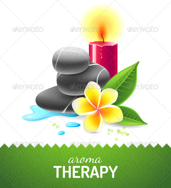 GraphicRiver Aroma Therapy Icon 7448548