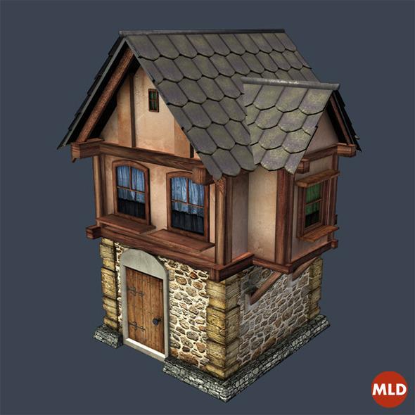 3DOcean House Medieval 7450190