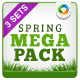 Spring Sale Mega Pack - 3 B-Graphicriver中文最全的素材分享平台