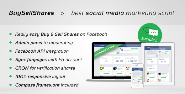 CodeCanyon Facebook Marketplace Buy&Sell Shares on fanpages 7324865