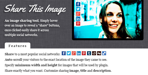 CodeCanyon Share This Image jQuery Image Sharing Plugin 7416929