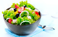 Mediterranean Salad. Greek Salad isolated on a White Background - PhotoDune Item for Sale