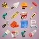 Construction Icons Set1.1 - GraphicRiver Item for Sale