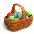 Basket with eater eggs - PhotoDune Item for Sale