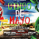 2014 Cinco De Mayo Flyer Template - GraphicRiver Item for Sale