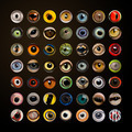 Composition of Animal eyes in cercle - PhotoDune Item for Sale