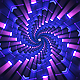 Light Flashing Hexagonal Tunnel VJ  - VideoHive Item for Sale