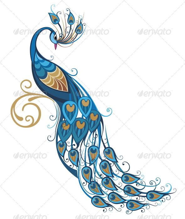 GraphicRiver Peacock 7456521