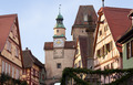 Historic tower in Rothenburg ob der Tauber - PhotoDune Item for Sale