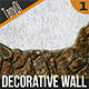 Decorative Stone Wall - GraphicRiver Item for Sale