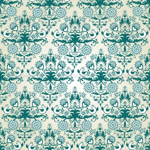 GraphicRiver Seamless Wallpaper Pattern 7459102