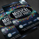 Musical night party flyer - GraphicRiver Item for Sale